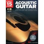 Hal Leonard 15 Lessons - Acoustic Guitar