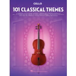 Hal Leonard 101 Classical Themes Cello