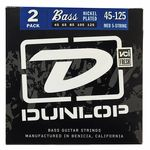 Dunlop Bass Strings 45-125 2 Set Pack