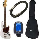 Fender SQ Vintage Mod Jazz OWT Bundle