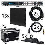 ADJ AV4IP Video 250x150cm Bundle