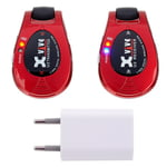 XVive Wireless System U2 Red Bundle