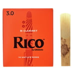 DAddario Woodwinds Rico Bb- Clar 3.0