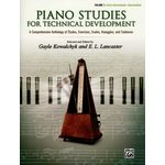 Alfred Music Publishing Piano Studies for Technical 1