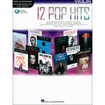 Hal Leonard 12 Pop Hits Violin