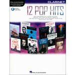 Hal Leonard 12 Pop Hits Clarinet