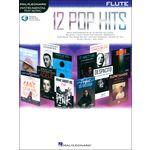 Hal Leonard 12 Pop Hits Flute