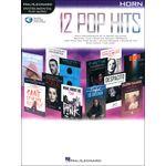 Hal Leonard 12 Pop Hits Horn