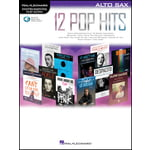 Hal Leonard 12 Pop Hits A-Sax