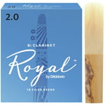 DAddario Woodwinds Royal Bb- Clarinet 2.0