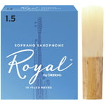 DAddario Woodwinds Royal Soprano Sax 1,5