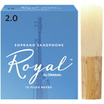 DAddario Woodwinds Royal Soprano Sax 2.0