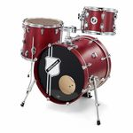 Millenium Compact Drum Set Cherry