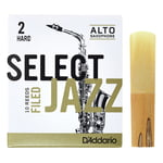 DAddario Woodwinds Select Jazz Filed Alto 2H