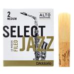 DAddario Woodwinds Select Jazz Filed Alto 2M