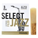DAddario Woodwinds Select Jazz Filed Alto 3H