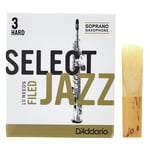 DAddario Woodwinds Select Jazz Filed Soprano 3H