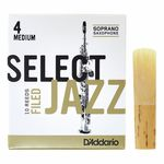 DAddario Woodwinds Select Jazz Filed Soprano 4M