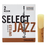 DAddario Woodwinds Select Jazz Unfiled Soprano 2M