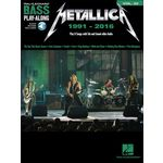 Hal Leonard Bass Play-Along Metallica:1991