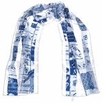 Anka Verlag Scarf Blue with Instruments