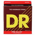 DR Strings Pre-Alloy PL-10 Acoustic Light