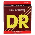 DR Strings Pre-Alloy PML-11 Acoustic