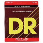 DR Strings Pre-Alloy PM-12 Acoustic Med.