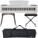 Yamaha P-125 WH Stage Bundle