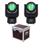 Stairville Bowl Beam 604Z Zoom LED Bundle