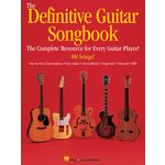 Hal Leonard The Definitive Guitar Songbook