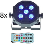 Fun Generation SePar Quad LED RGB UV Bundle