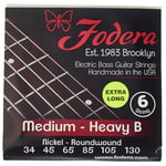 Fodera 6-String Set Ni Med Heavy B XL
