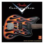 Fender Custom Shop Guitar Calendar