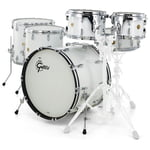 Gretsch Drums US Custom Rock Set White Glass