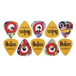 Daddario Beatles Yellow Sub Pick Thin
