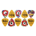 Daddario Beatles Yellow Sub Pick Med