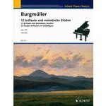 Schott Burgmüller 12 Studies op.105