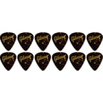 Gibson Tortoise Picks Heavy 12pc
