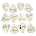 Gibson Perloid Picks Thin 12pc