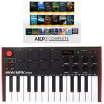 Akai MPK mini Mk2 - AIEP3 Bundle