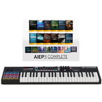 M-Audio Code 49 Black - AIEP3 Bundle