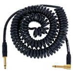 Kirlin Premium Coil Cable 6m Black