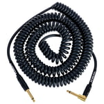 Kirlin Premium Coil Cable 9m Black