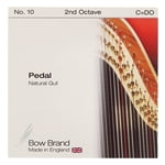 Bow Brand Pedal Natural Gut 2nd C No.10