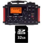 Tascam DR-60D MkII Card Bundle
