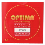 Optima 2155 24K Mandolin Gold Strings
