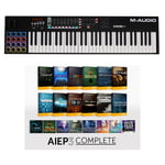 M-Audio Code 61 Black - AIEP3 Bundle