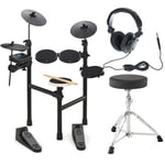 Hitman HD-7 Sonic E-Drum Set Bundle
