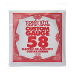 Ernie Ball 058 Single String Wound Set